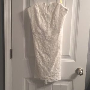 Adelyn Rae Dresses - perfect little white dress! Vintage inspired lace